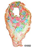 Нежный шейный платок 60*60  (61002)