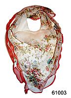 Нежный шейный платок 60*60  (61003), фото 1