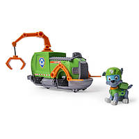 Paw Patrol Рокки на каменистом буксире Rocky's Tugboat Vehicle and Figure