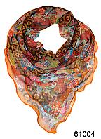 Нежный шейный платок 60*60  (61004)