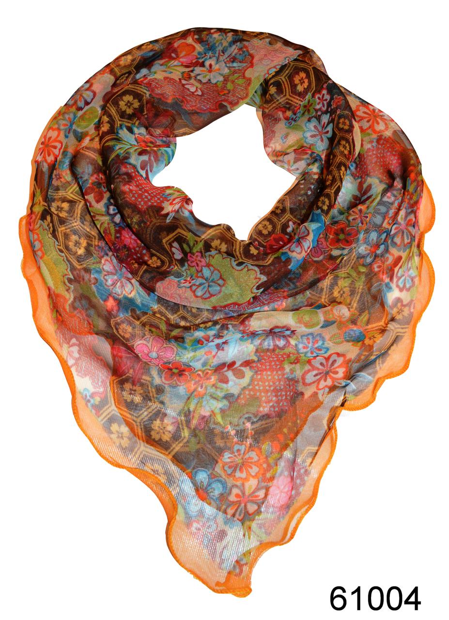 Нежный шейный платок 60*60  (61004), фото 1