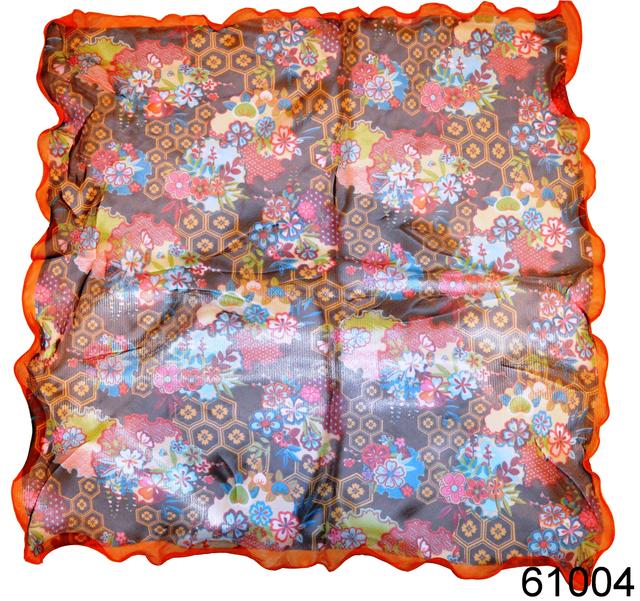 Нежный шейный платок 60*60  (61004) 2