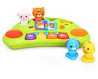 """Игрушка """"Пианино со зверятами"""" (2103A), Huile Toys"""
