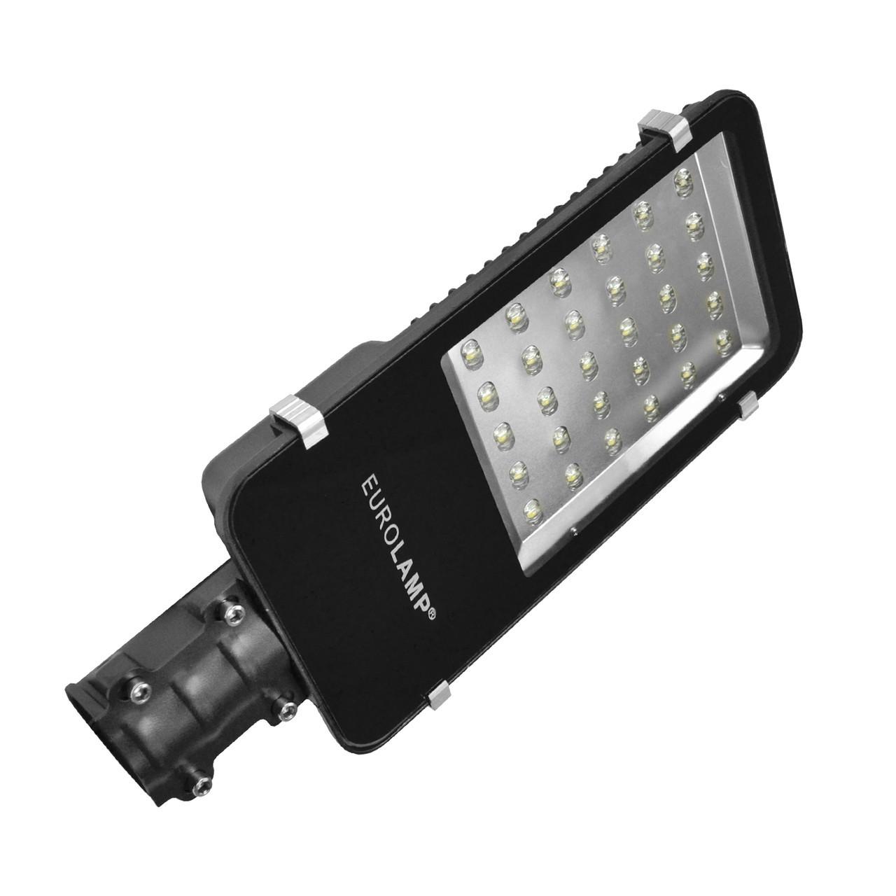 LED Светильник уличный EUROLAMP SMD черный 30W 6000K classic