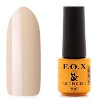 Гель-лак F.O.X  6 мл French №715 (желтый пастельный)