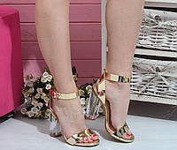 Босоножки на каблуке , фото 1