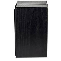 Колонки BAGD M5 черные деревянные для компьютера и ноутбука с питанием от USB джек 3,5 качественный звучание