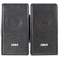 Колонки OVANN T1 черные музыкальные джек 3.5мм USB для компьютера ноутбука смартфона компьютерные мощные