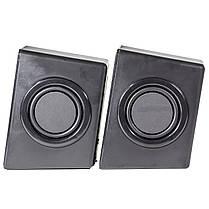 Колонки OVANN T1 черные музыкальные джек 3.5мм USB для компьютера ноутбука смартфона компьютерные мощные, фото 2