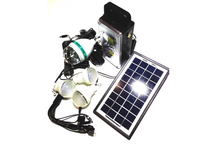 Універсальна портативна сонячна система GDLITE GD-8023