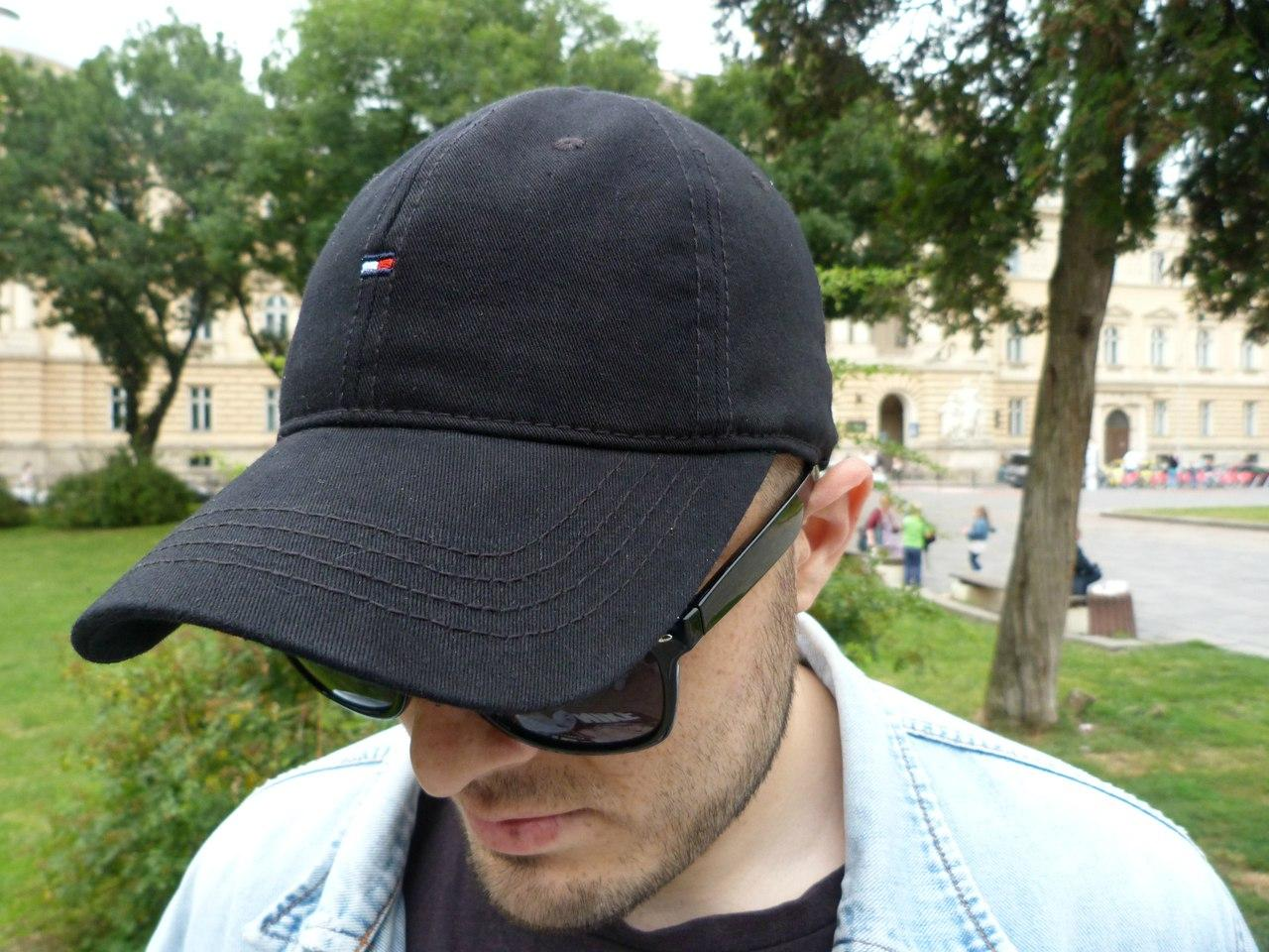 Кепка Cap by Tommy Hilfiger (бейсболка). Живое фото! (Реплика ААА+)