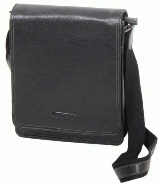 Кожаная сумка Katana из натуральной кожи, черный k69303-1 на 3 л