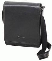 Мужская кожаная сумка Katana на 3 л. из натуральной кожи, черный k69303-1.