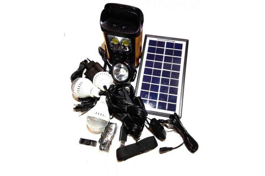 Універсальна портативна сонячна система GDLITE GD-8131 (коногонка)