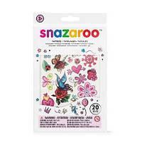 Набор наклеек для грима Snazaroo TATTOOS GIRLS, 20 шт
