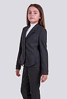 Школьные джинсы на девочку. Размеры 122 - 140 Цвет синий, черный