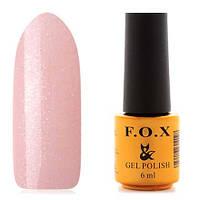 Гель-лак F.O.X  6 мл French №730 (розовато-персиковый, с микроблестками), фото 1