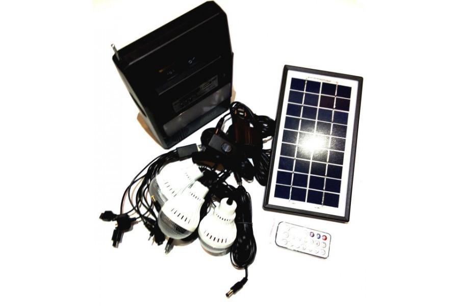 Універсальна портативна сонячна система GDLITE GD-8126