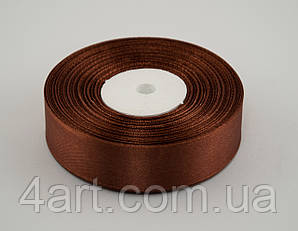 Лента атлас 0.6 см, 33 м, № 31 Светло-коричневая