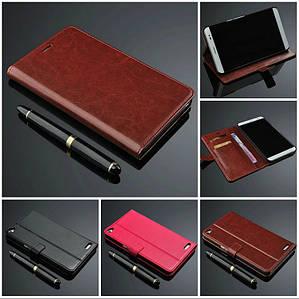 """Huawei HONOR X1 MediaPad оригинальны кожаный чехол кошелёк из натуральной телячьей кожи на телефон """""""