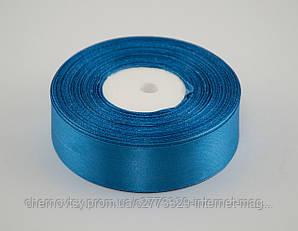 Стрічка атлас 0.6 см, 33 м, № 36 Яскраво-блакитна