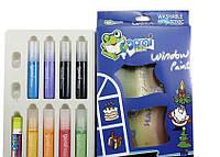 Витражные краски Domi Frog