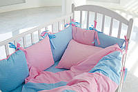 Детское постельное белье для девочки ЯРКИЙ МИКС ЗВЕЗДОЧЕК