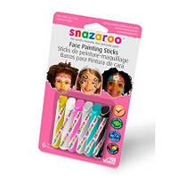 """Набор карандашей для аквагрима """"Для девочек"""", 6 цветов"""