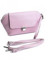 Клатч женский кожаный 618G Pink