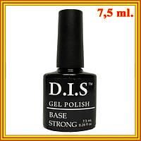 DIS База для Гель-Лака Gel Polish Base Strong, Суперпрочная для Проблемных Ногтей  7,5 мл.