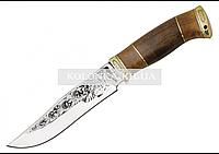 Нож охотничий ТИГР (с рисунком)