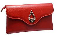 Стильный женский клатч 609-2 red