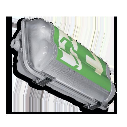 Светильник взрывозащищенный MULTIBASET-N-PC-111-EP, 1x11W, 3h, 2G7, зона 2,22