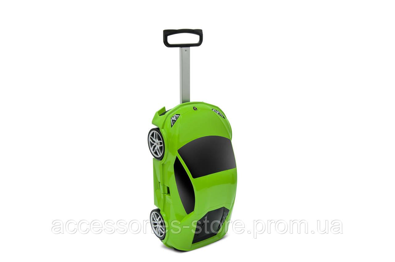 Детские чемодан Lamborghini Huracán LP 610-6 trolley bag, green