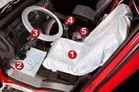 Чехол на сидения одноразовый полиэтиленовый набор CLEAN SET TRUCK (для грузовиков) 5 в 1