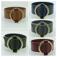 Интересные цветные кожаные браслеты для женщин. Браслеты напульсники из кожи оптом.