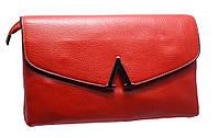 Модный женский клатч H6004 red