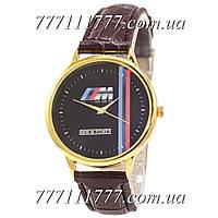 Часы мужские наручные Украина BMW M Power m Gold-Brown