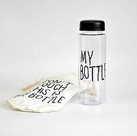 My bottle черная пластик