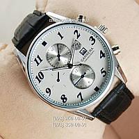 Часы Tag Heuer Grand Carrera Black/Silver/White