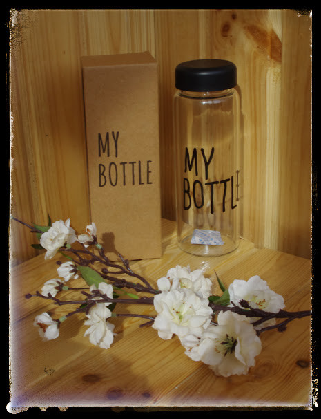 My bottle черная стекло