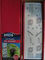 Липкая лента ловушка  от мух тараканов муравьев оптом Брос Польша оригинал средство от мух