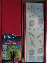 Липкая лента от мух и насекомых Bross Брос Польша оригинал