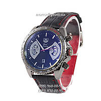 Часы Tag Heuer Quartz Grand Carrera Calibre17 Black/Black/Dlack-Silver