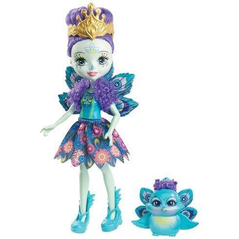 Энчантималс павлин Петтер и питомец Флеп / Enchantimals Doll and Animal Pack - Patter Peacock and Flap Peacock