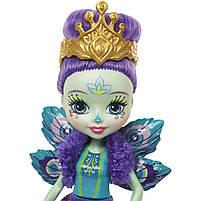Энчантималс павлин Петтер и питомец Флеп / Enchantimals Doll and Animal Pack - Patter Peacock and Flap Peacock, фото 3
