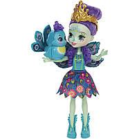 Энчантималс павлин Петтер и питомец Флеп / Enchantimals Doll and Animal Pack - Patter Peacock and Flap Peacock, фото 2
