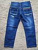 Джинсовые брюки для мальчиков оптом, Niebieski 7-12, фото 2