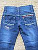 Джинсовые брюки для мальчиков оптом, Niebieski 7-12, фото 3