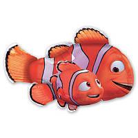 Гелиевый фольгированный шар - Рыбка Немо. Гелиевые шары Киев, гелиевые фигуры. Шары Троещина.